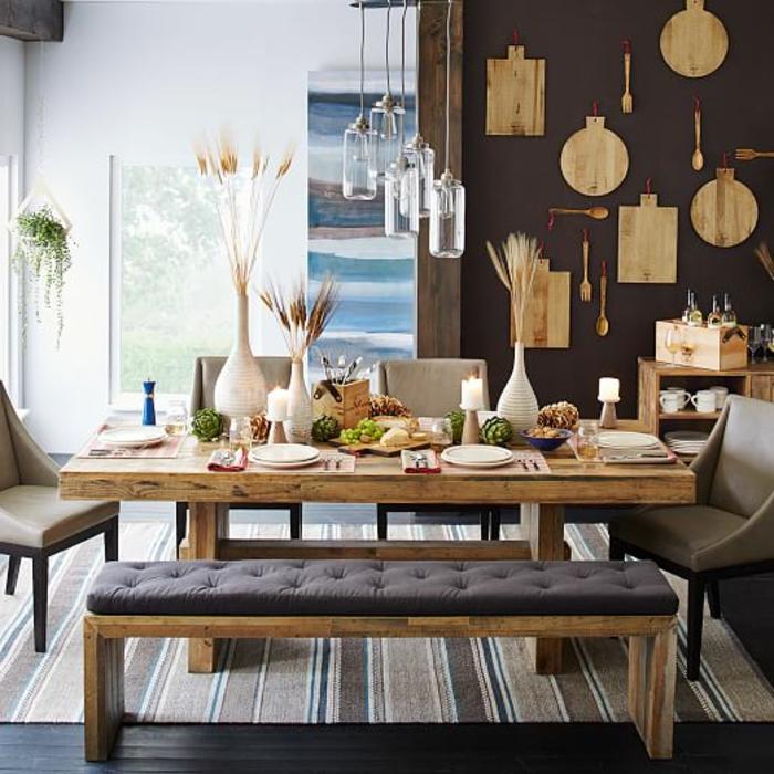 100 unikale Ideen für Sitzecke in der Küche! - Archzinenet - esszimmer aus holz