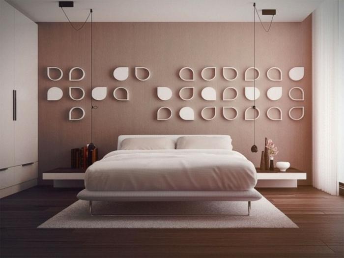 Schlafzimmer Wände Farblich Gestalten Braun rheumri - schlafzimmer gestalten wandfarbe
