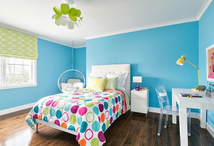 125 Einrichtungsideen für ein schönes Mädchenzimmer! - Archzinenet - kinderzimmer blau mdchen