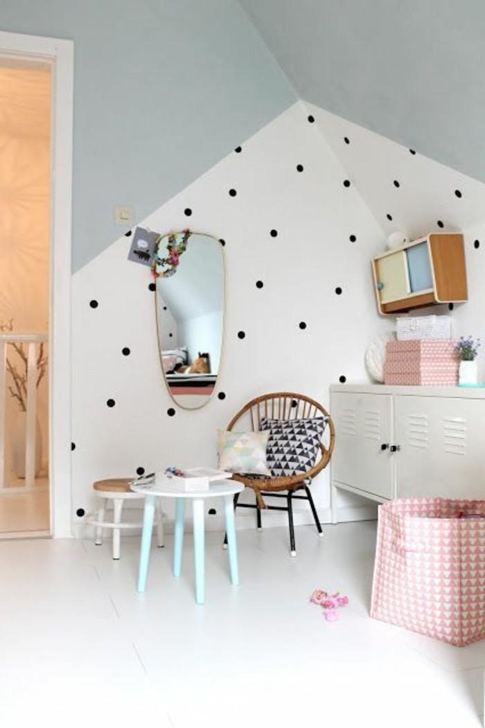 125 Einrichtungsideen für ein schönes Mädchenzimmer! - Archzinenet - kinderzimmer gestalten wand