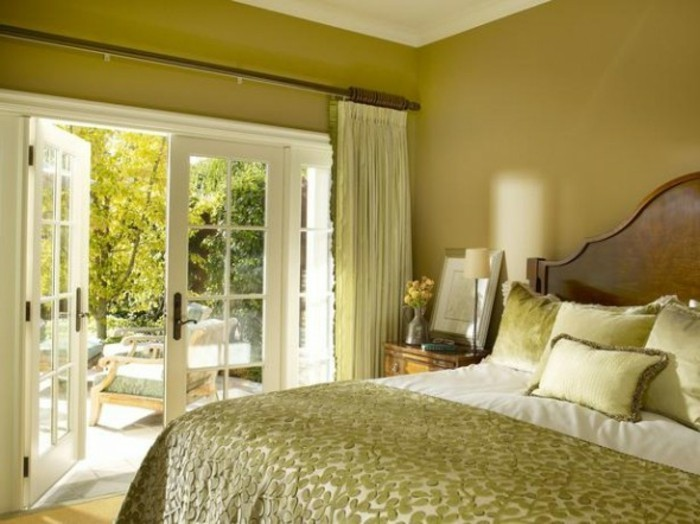 Schlafzimmer Wandfarbe Ideen in 140 Fotos! - Archzinenet - schlafzimmer gestalten wandfarbe
