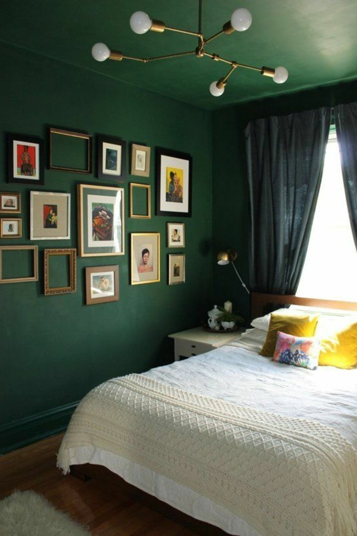 Farbe Wand Schlafzimmer Schlafzimmer Wandfarbe Ideen In 140 Fotos!
