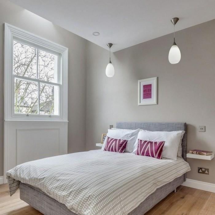 Wandfarbe Schlafzimmer Entspannend | Farbe Schlafzimmer Blau ...