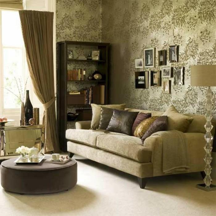 115 schöne Ideen für Wohnzimmer in Beige! - Archzinenet - wohnzimmer in braun gestalten
