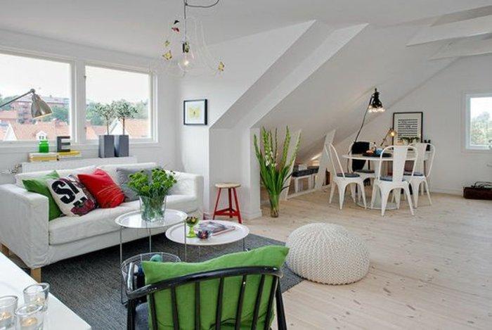 Stunning Einrichtung Einer Dachgeschosswohnung Raumlosungen Klein ...
