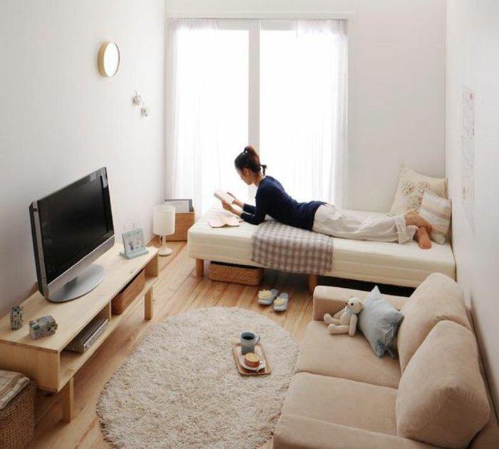 Kleines Wohnzimmer einrichten - eine große Herausforderung - groses wohnzimmer einrichten