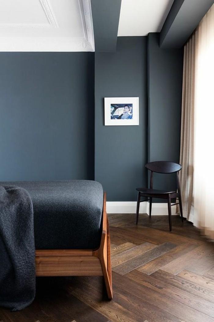 Die wunderschöne und effektvolle Wandfarbe Petrol! - Archzinenet - schlafzimmer gestalten wandfarbe