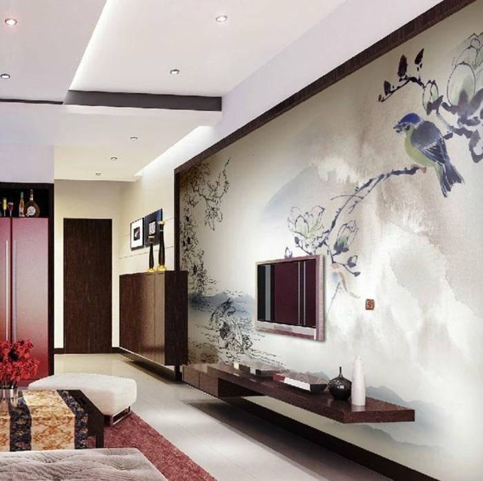 120 Wohnzimmer Wandgestaltung Ideen! - Archzinenet - raumgestaltung ideen