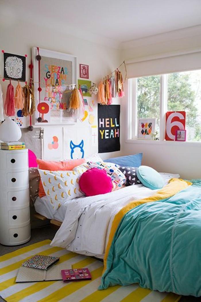 Wandgestaltung Jugendzimmer - cool und schön einrichten - Archzinenet - jugendzimmer gestalten
