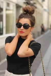 Runde Sonnenbrille - cooles und modernes Accessoire