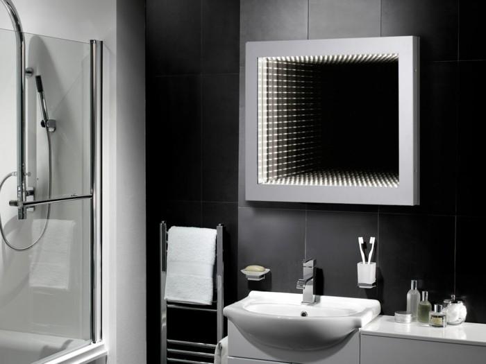 waschbecken design flugelform, wandgehangtes waschbecken beton, Badezimmer ideen