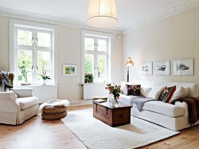 Wohnraum Moderner Landhausstil