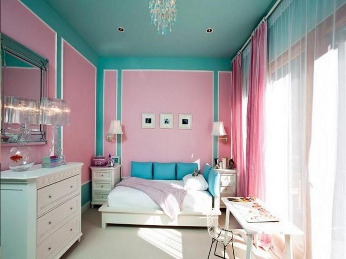 Kinderzimmer gestalten Erschwingliche Kinderzimmer Deko Ideen - kinderzimmer blau mdchen