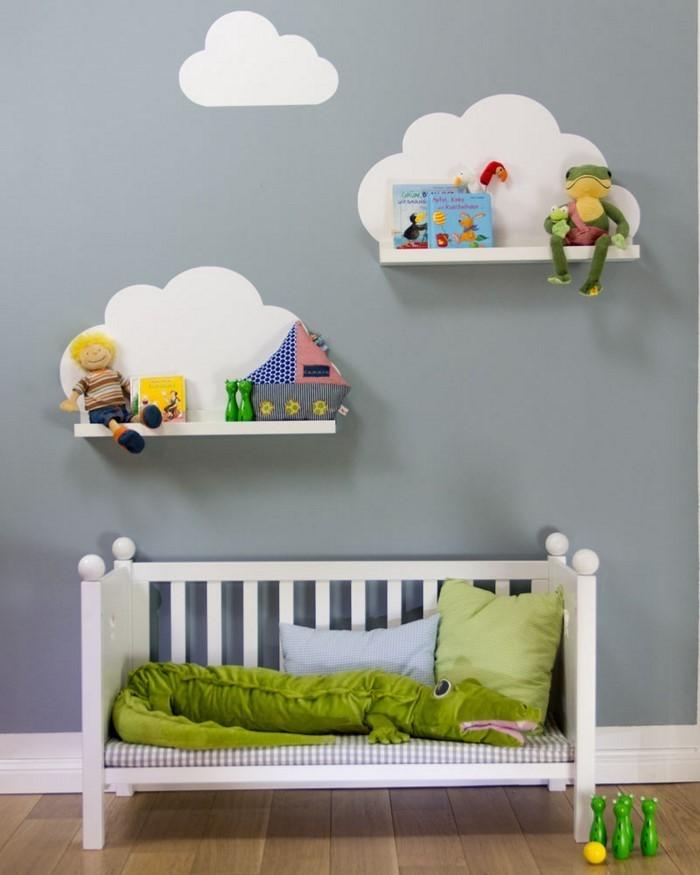 Kinderzimmer gestalten Erschwingliche Kinderzimmer Deko Ideen - kinderzimmer gestalten wand