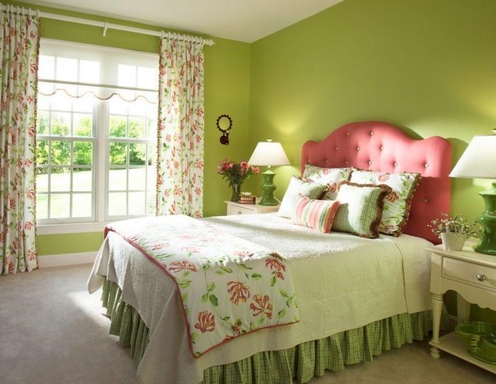 Nauhuri Schlafzimmer Ideen Farbgestaltung Grün ~ Neuesten - schlafzimmer ideen in grun