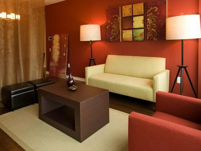 emejing wohnzimmer gelb rot ideas - house design ideas ... - Wohnzimmer Gelb Rot