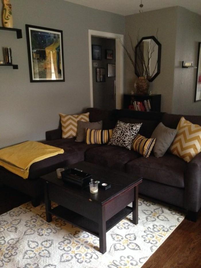 Wohnzimmer Gelb Braun. best wohnzimmer braun gelb ideas - new home ...