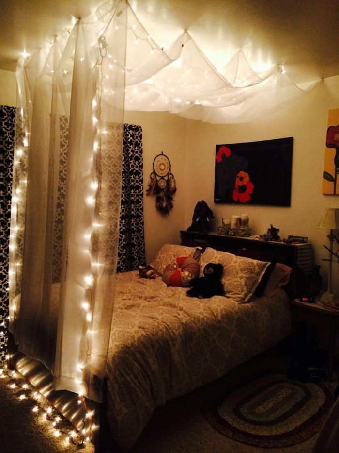 himmelbett selber bauen ein schon aussehendes himmelbett selber - romantisches schlafzimmer mit himmelbett gestalten