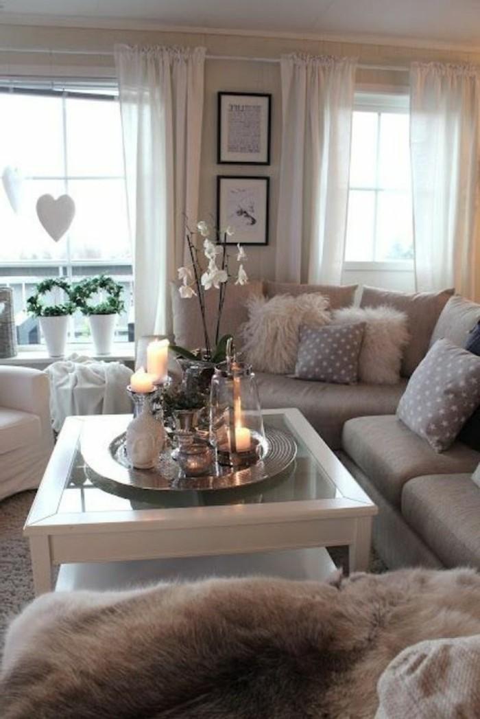 Design Wohnzimmer Mit Blau Grau Streichen Dumss