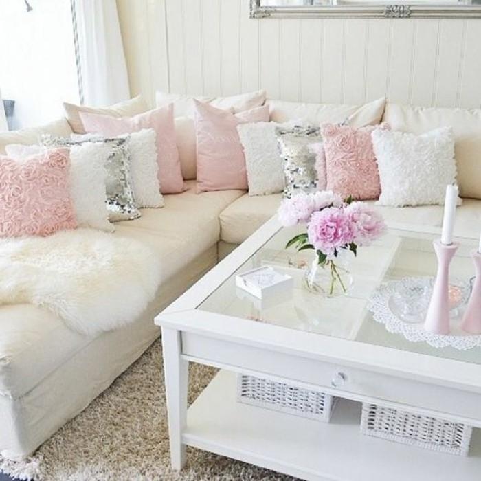 Best Wohnzimmer Deko Rosa Contemporary - New Home Design 2018