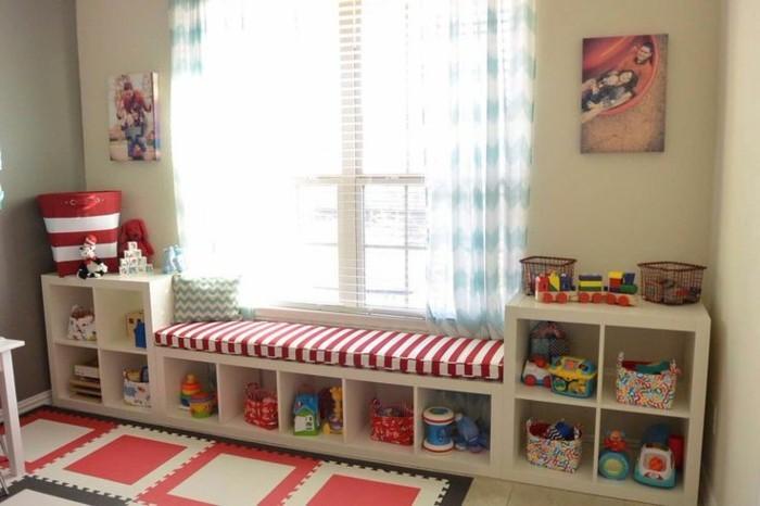 40 Ideen fr schne Kinderzimmer Fensterdeko