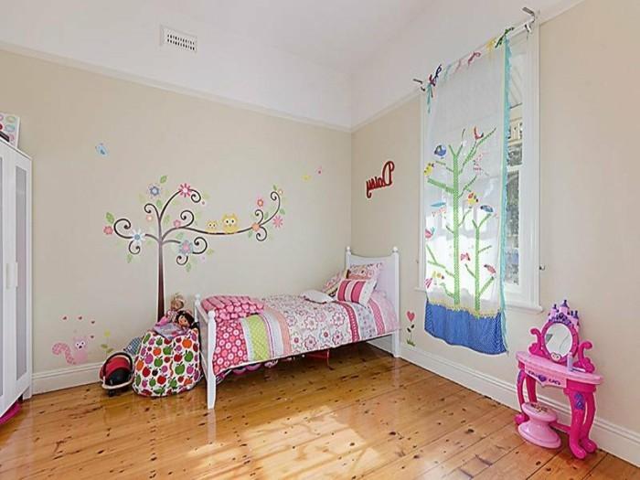 40 Ideen für schöne Kinderzimmer Fensterdeko - Archzinenet - kinderzimmer gestalten madchen