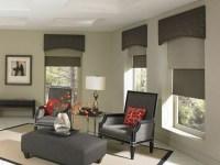 Moderne Fensterdeko fr eine vornehme Atmosphre im Raum ...