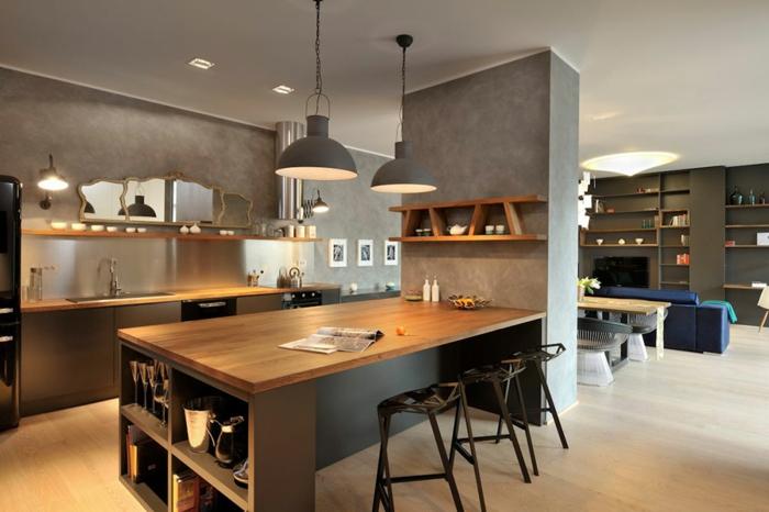 Offene Kuche Wohnzimmer u2013 edgetagsinfo - offene kuche