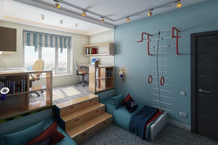 ▷ 1001+ Ideen für Kinderzimmer Junge - Einrichtungsideen - schlafzimmer einrichten spiele