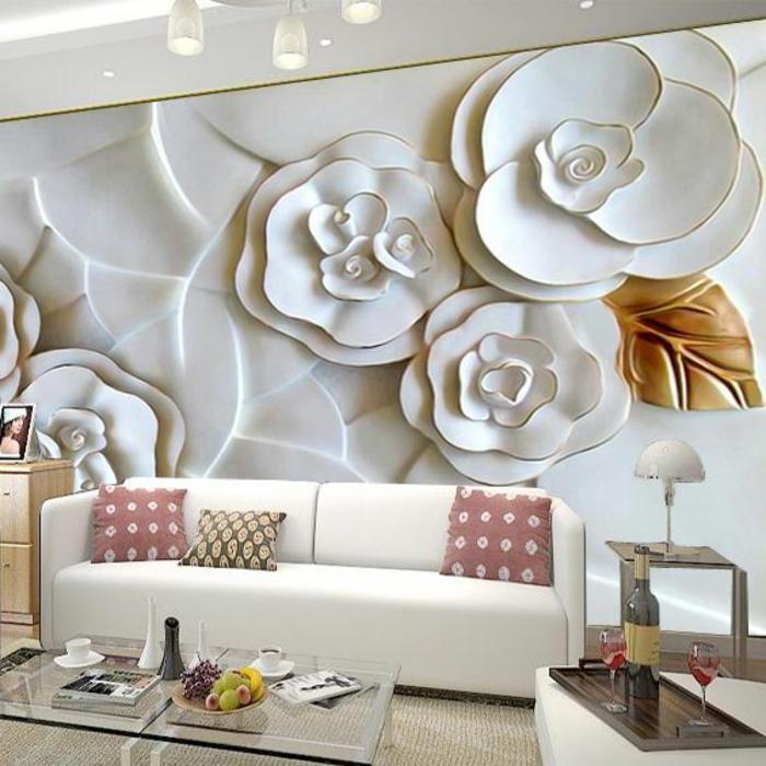 3d Wallpaper For Drawing Room 1001 Wohnzimmer Deko Ideen Tolle Gestaltungstipps