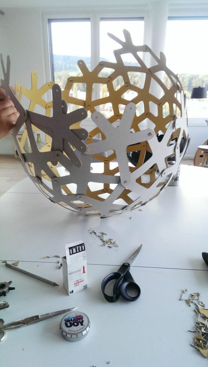 Tinker Lampshade A Theme For The Craft Enthusiast - Lampenschirm Papier Basteln