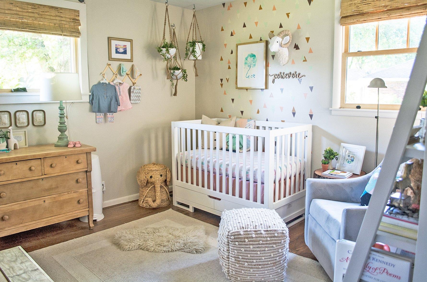 Kinderzimmer Mädchen Baby