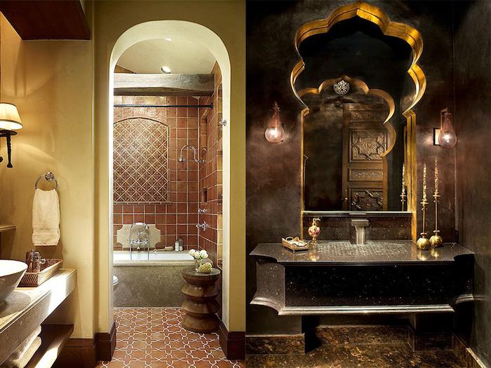 ... Luxus Badezimmer Modern Braun Ideen Schones Bad Beige Demutigend   Badezimmer  Gold ...