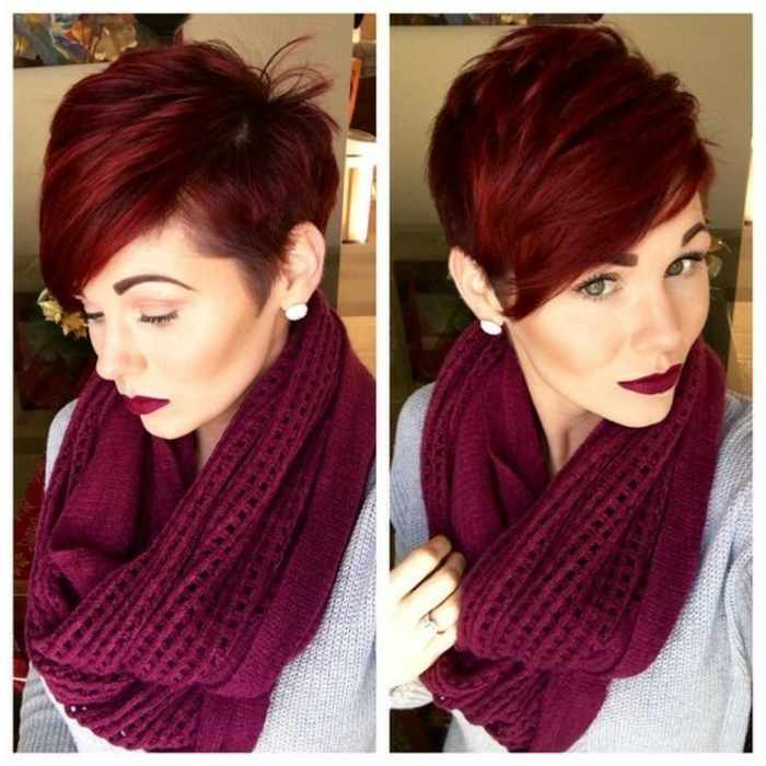 Rote Haare Lippenstift Reddish Brown Hair - An Exciting Color Transformation