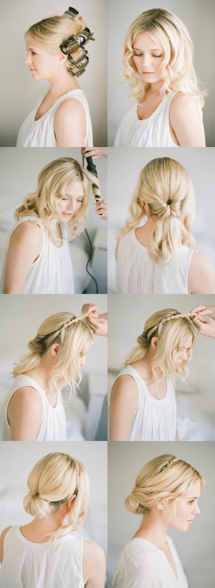 Locken Selber Machen Schnell Und Einfach Vorher Nachher Frisuren