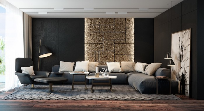Wohnzimmer Gold Weiß | Turkis Braun Schlafzimmer ...