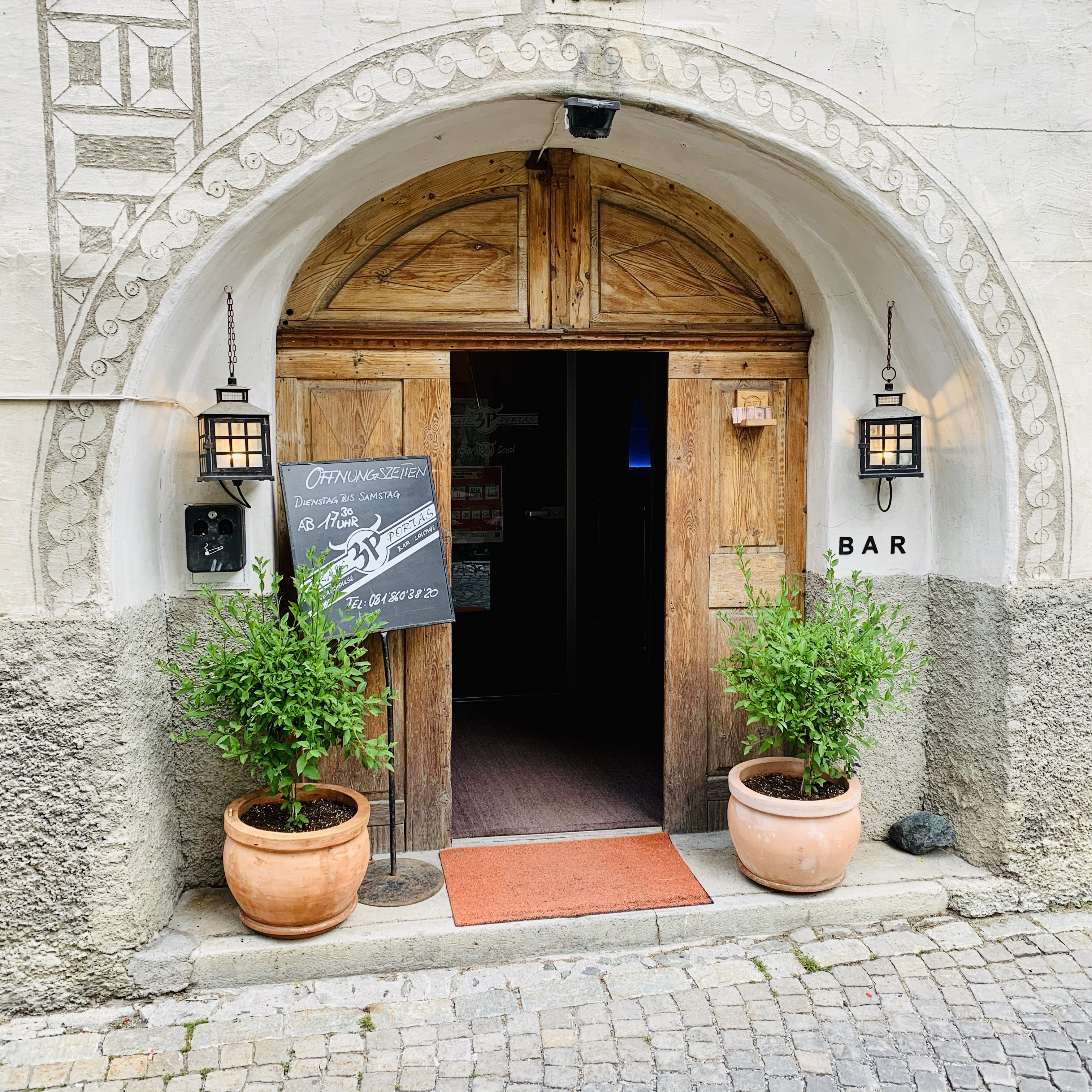"Portas Küchen Preise Eating Out #19: ""trais Portas"" Scuol – Arcimboldis World"