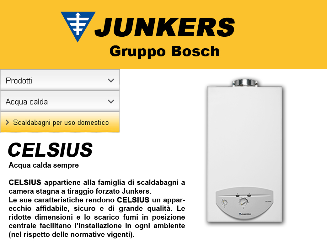 Hydrocompact Outdoor Scaldabagno A Gas Junkers Tutte Le Offerte Cascare A