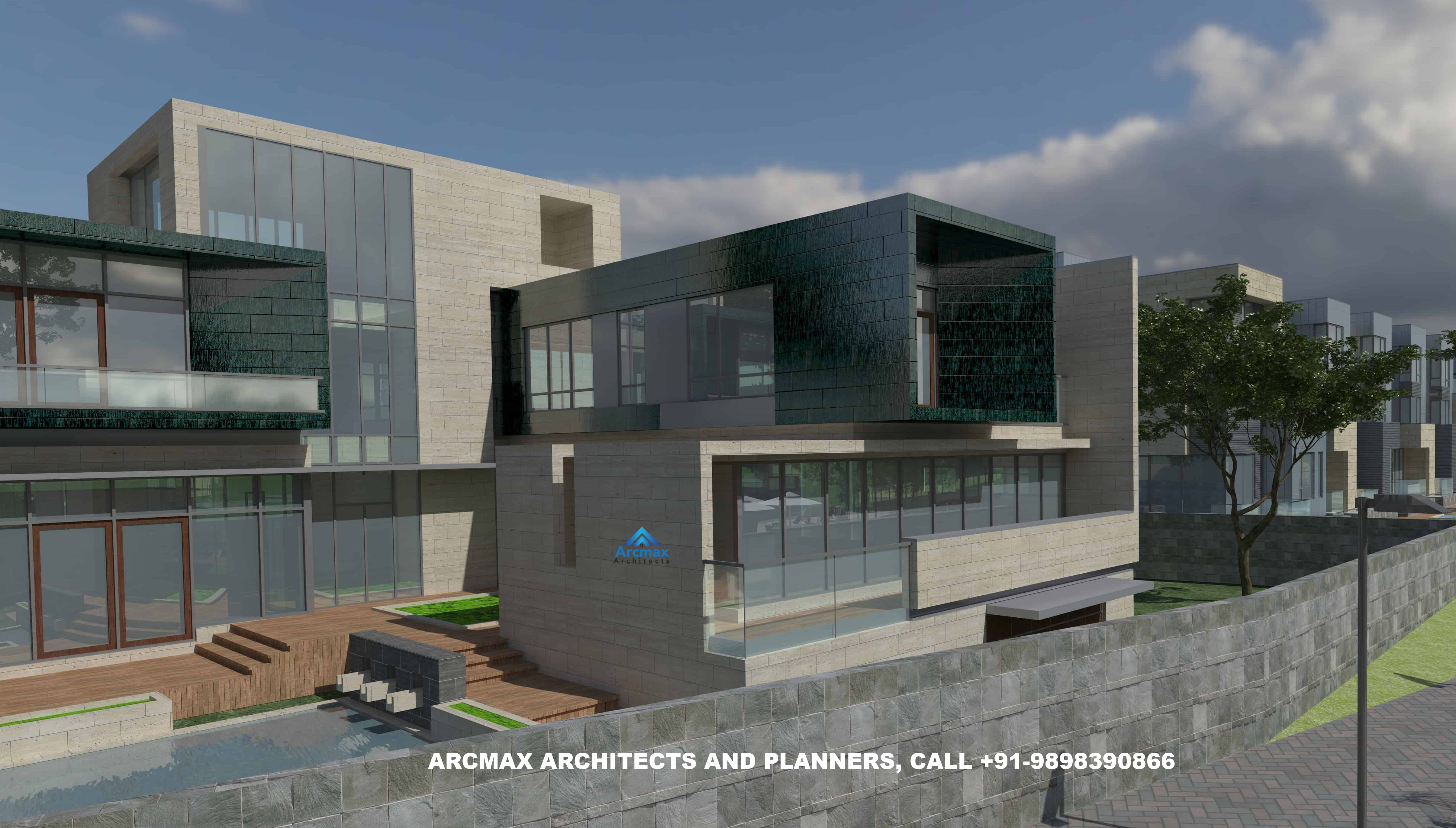 Home Design Of India Best Architect In India For Modern Villa Home Design Arcmax