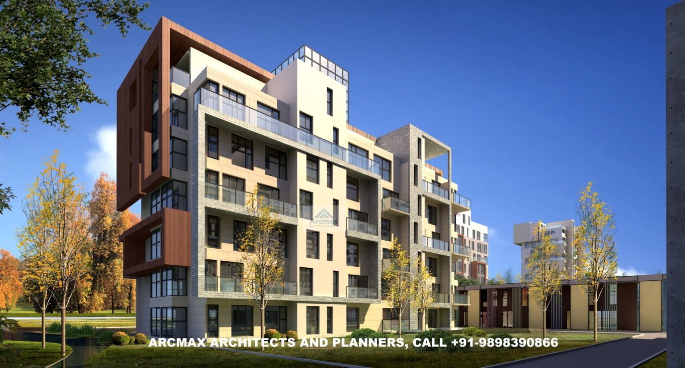Architectural Design Of Residential Building Cost Effective Building Design Arcmax Architects