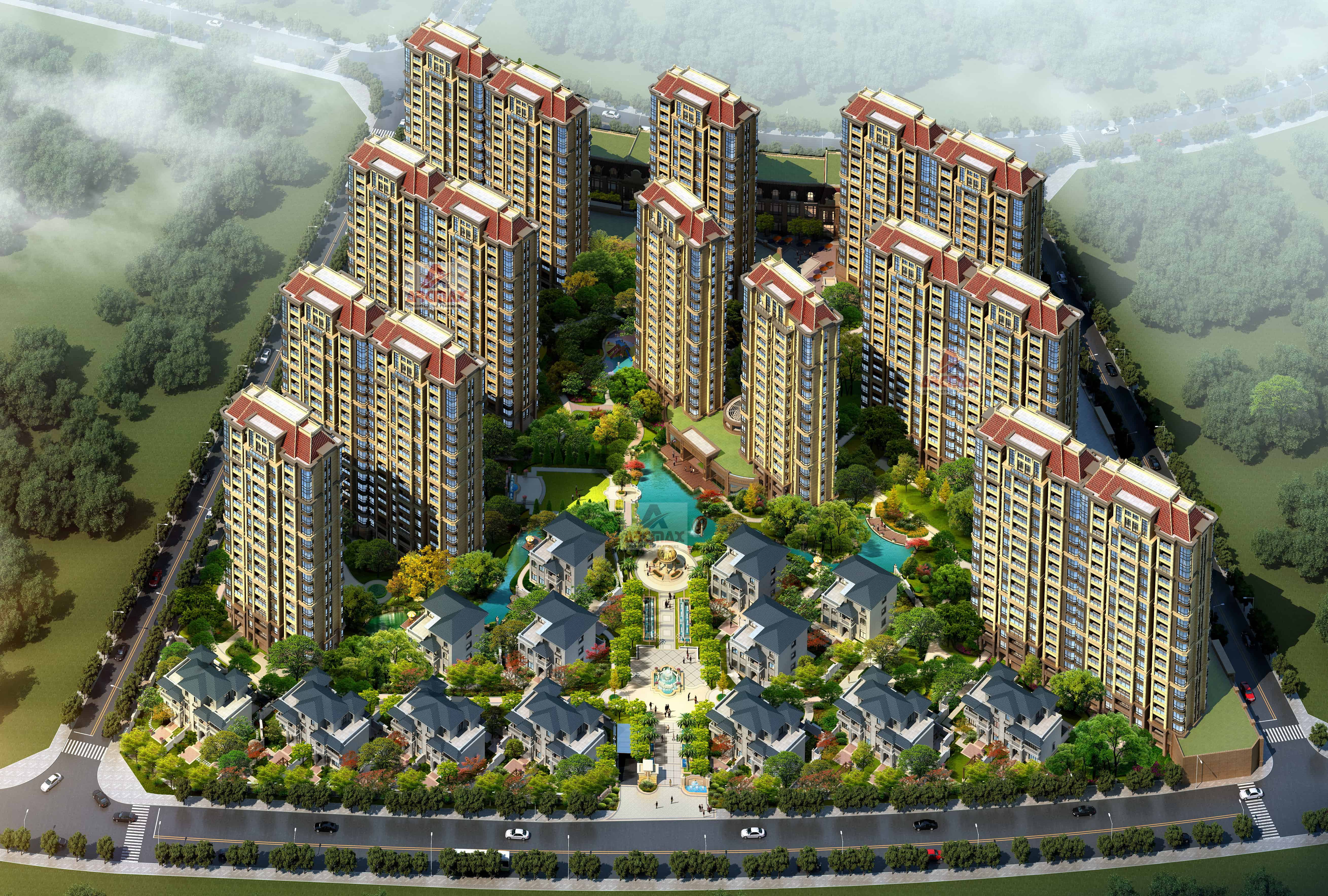Architectural Design Of Residential Building Highrise And Multi Story Building Architecture Design Arcmax