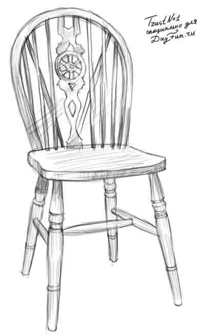 How To Draw A Chair Step By Step Arcmelcom