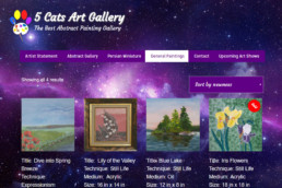 5 Cats Art Gallery