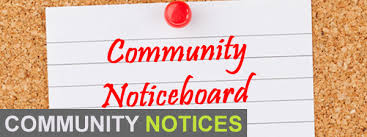 Community Notices 5th February 2017
