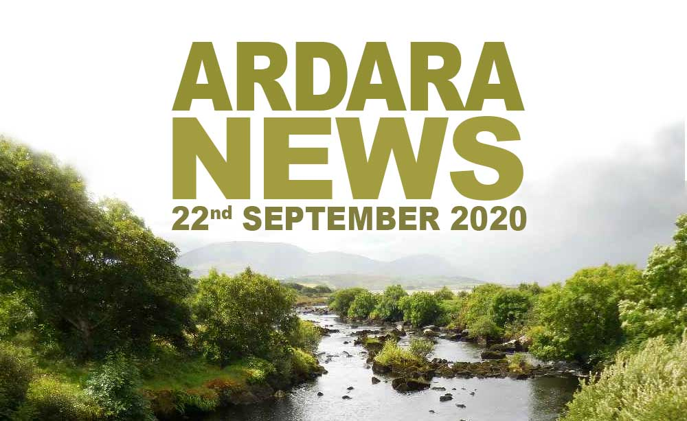 Ardara News 22nd September 2020