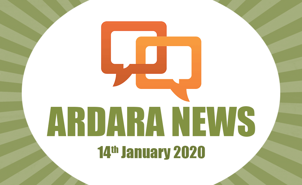 Ardara News 14th Jan 2020