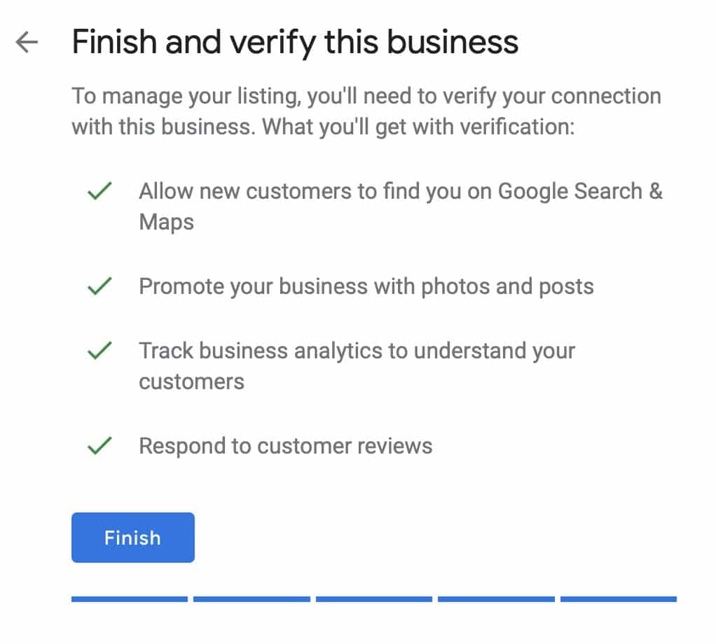 Business Step Google My Business A Step By Step Guide 2019