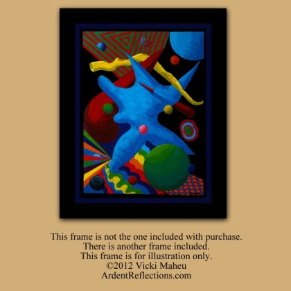 Cerebral Art, Framed Original, space,stab, penetrate, painting abstract, modern painting, framed abstract art, modern wall art, Item #CCO1 Colorful framed art, art framed original, acrylic artwork, colorful art framed
