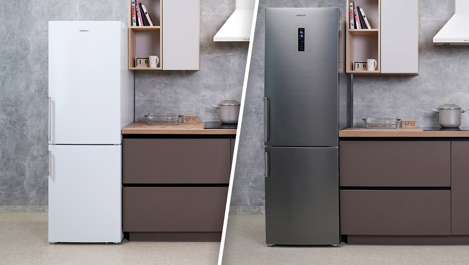 No Frost New Ardesto Refrigerators With No Frost Cooling Ardesto