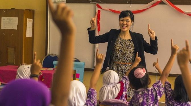 Kelas Inspirasi & Dunia Pendiidikan Indonesia - Ardika Percha